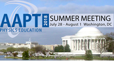 AAPT Summer Meeting 2018