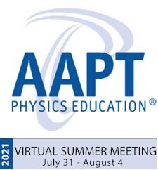 2021 AAPT Virtual Summer Meeting