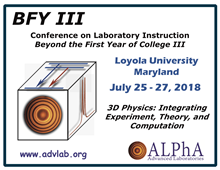 BFY III Conference on Laboratory Instruction